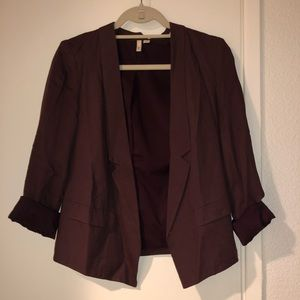 Maroon Blazer, Slightly Cropped